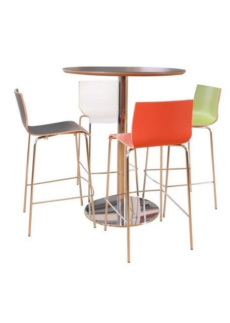 Café bord med Spela højstole