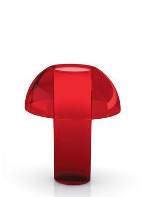 Bordlampe i rød