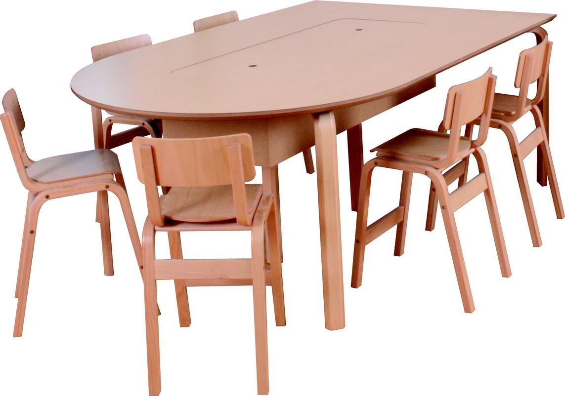 lego bord med Karlo jr. stol - borde til institutioner