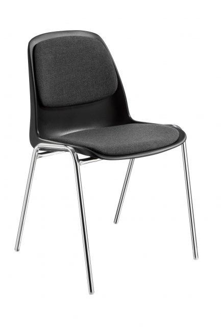 Selena A polstret med brik polstring på sæde og ryg