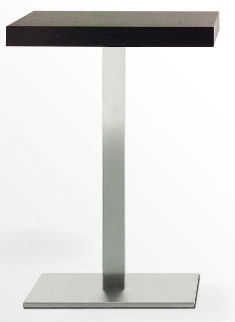 Inox 4402 søjlestel med plade
