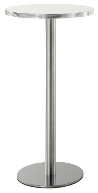 Inox 4414 søjlestel i ståhøjde