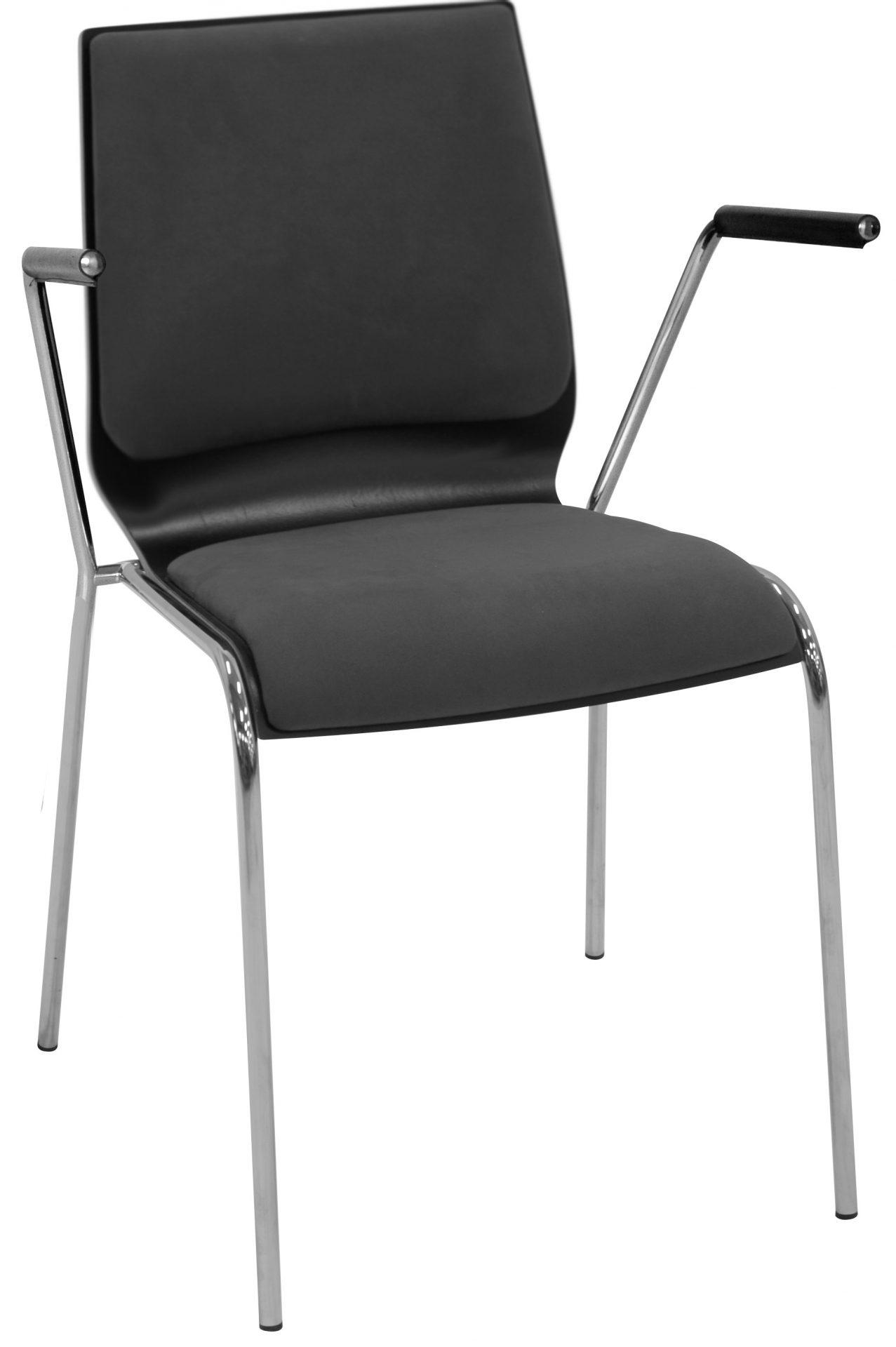 Spela stol brikpolstret sæde og ryg