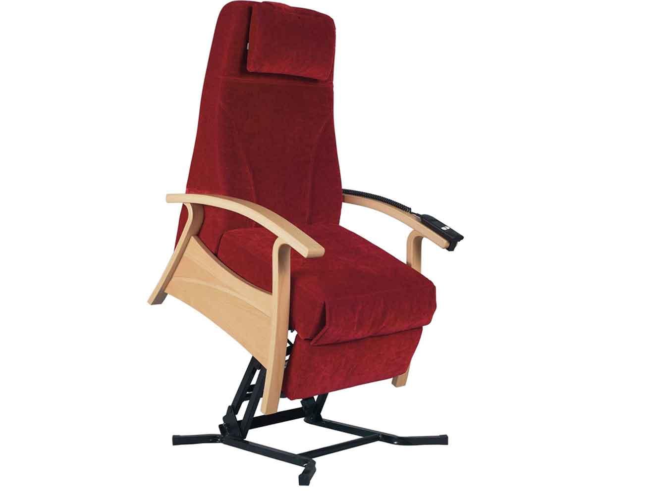DWG Relax stol med løftemekanisme til plejesektoren