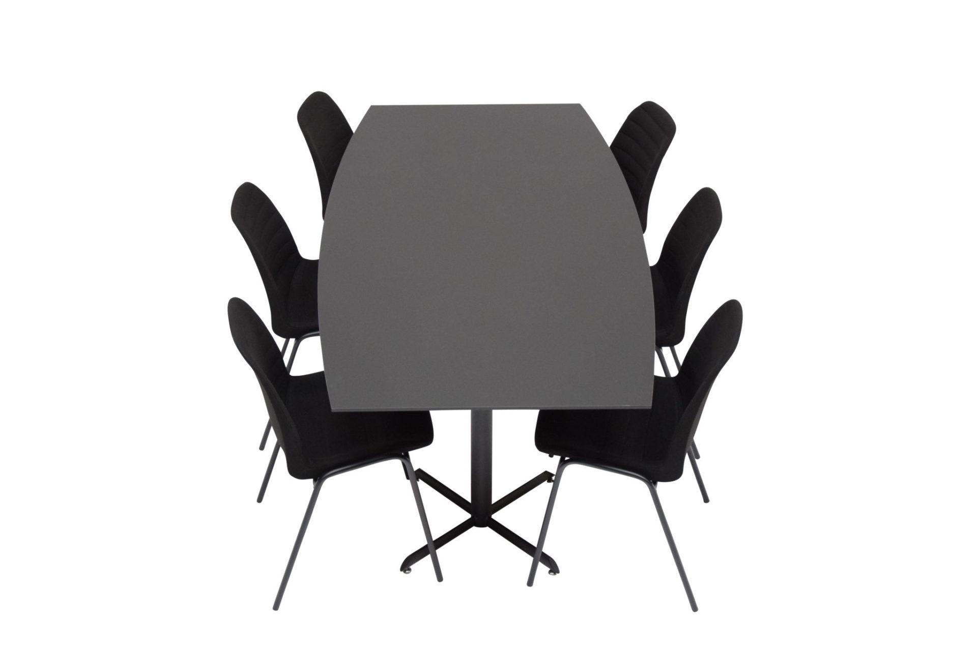 IF søjle stel - findes i flere udgaver her vist med Selena fuldpolstret stol